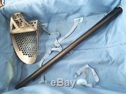 1 1/4, 51 length Carbon fiber sand scoop TRAVEL shaft fits stavr trex and more