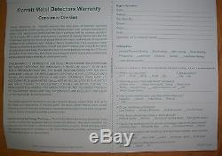 1-3 Day Delivery Garrett Metal Detector Ace 300 Refurb Bonus Items Free Shipping