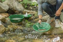 7pc Prospecting Gold Panning Kit Gold Pans Sifting Pan Classifiers & MORE