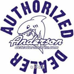 Anderson JW Fishers Brand Metal Detector Aluminum Underwater Scuba Shaft 0826