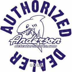 Anderson Minelab Excalibur Metal Detector Blue Aluminum Over Under Shaft 0813