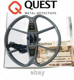 Arven 13 DD Search coil for QUEST Q20 Q30 Q40 Q60 X5 X10 Metal Detector