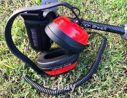 Black Ghost Minelab Equinox 600 800 Waterproof / Underwater Headphones