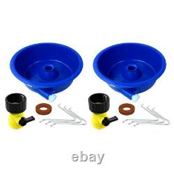Blue Bowl Gold Concentrator Dual Pack with Control Valve, Wire Legs & Instructions