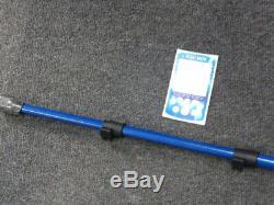 Blue Carbon Fibre Telescopic Shaft for Minelab Equinox Metal Detectors