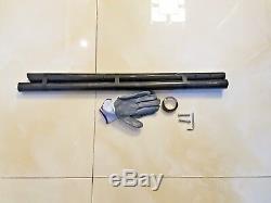 CARBON FIBER sand scoop TRAVEL SHAFT shovel handle (1.38 x 47) nokta