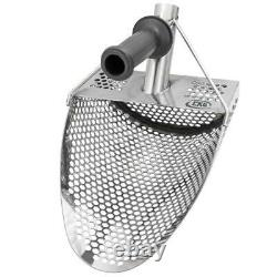 CKG Sand Scoops Metal Detector Handle Pole Carbon Detecting Shovel Scoop Scooper