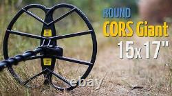 CORS Giant 15x17 DD Search Coil for Garrett ACE Series Metal Detector with Cover
