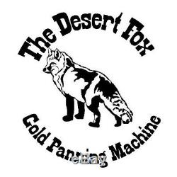 Camel Mining Desert Fox Automatic Variable Speed Gold Panning Recovery Machine