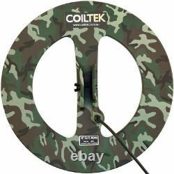 Coiltek 18 inch elite mono camo metal detector coil WA Stock