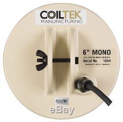Coiltek 6 Mono GoldStalker Coil for Minelab SD/GP/GPX Metal Detectors C01-0001