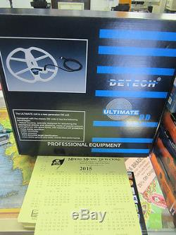 Detech 13 Ultimate Coil for Whites Metal Detector, Free Ship & Treasure Apron