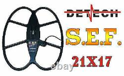 Detech 21x17 SEF Coil for Minelab Sovereign