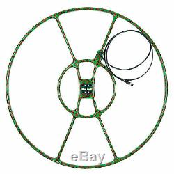 Detech 32 Concentric Search Coil for Minelab GPX, GP, SD Series Gold Detectors