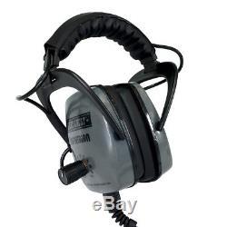 DetectorPro Gray Ghost Amphibian Waterproof Headphone for Minelab Equinox Series