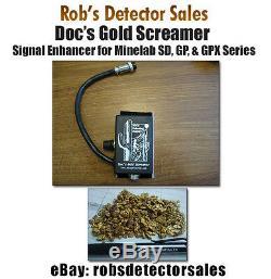 Doc's Gold Screamer Signal Enhancer for Minelab GPX 5000, GPX 4800, GPX 4500