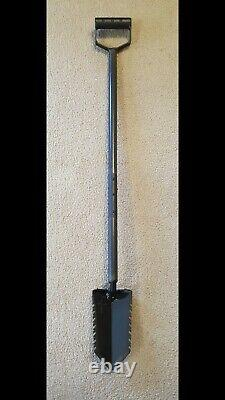 Excalibur Metal Detecting Shovel Digging Tool Serrated Edges Sir Kay XLD 40