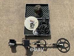 Fisher 1266 XB Metal Detector with Case & 5 Coils