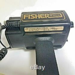 Fisher 1280-x Aquanaut Metal Detector With Hard Case Pre-Owned Tested