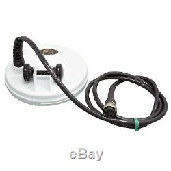 Fisher 5 Solid DD White Search Coil for F5 and F19 Metal Detector 5COIL-F5F
