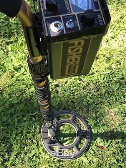 Fisher Cz-5 Quicksilver Metal Detector 8 Coil