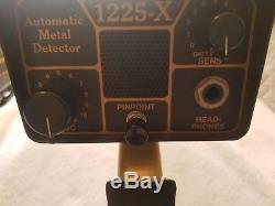 Fisher Cz5 and 1225X metal detectors