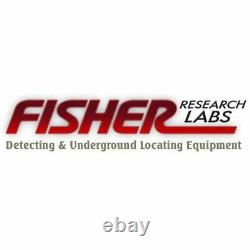 Fisher Gold Bug Series 10 Solid Biaxial DD White Elliptical Coil 10COILDD-GB