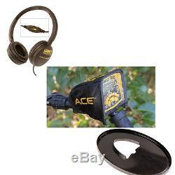 Garrett ACE 300 Metal Detector Waterproof Coil, Headphones & Free Accessories