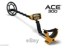 Garrett ACE 300 Metal Detector with Headphones & Free Accessories