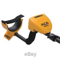 Garrett ACE 400 Metal Detector Water-Proof Coil, Headphones & Free Accessories