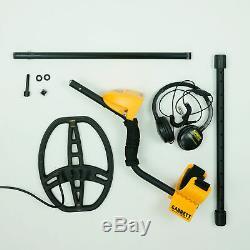 Garrett ACE 400 Metal Detector with 8.5 x 11 DD Waterproof Coil & 2 Accessories