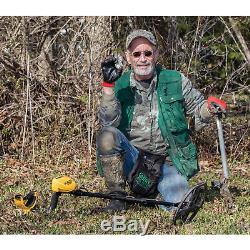 Garrett ACE 400 Metal Detector with Waterproof Search Coil & Accessories Bundle