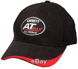 Garrett AT MAX Metal Detector, Wireless Headphones, Hat, Cover, Garrett Token