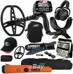 Garrett AT Max Metal Detector Bag Bundle