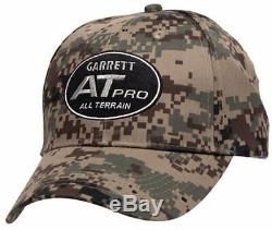 Garrett AT Pro Metal Detector with Land Headphones, Camo Pouch and Camo Hat