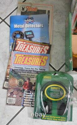 Garrett Ace 250 Metal Detector Proformance Searchcoil Kit with 10 accessories