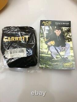 Garrett Ace 300i Metal Detector 1141450 With Accessories