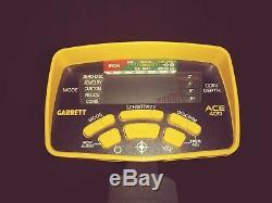 Garrett Ace 400 Metal Detector With Headphones and Accessories