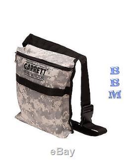 Garrett Camo Treasure Pouch for Ace 150,250,350 Garett Metal Detectors Garret