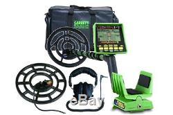 Garrett Gti 2500 Metal Detector + Accessories The Top Of Garrett