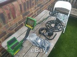 Garrett Gti 2500 metal detector with headphones and accessories
