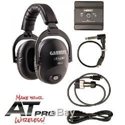 Garrett MS-3 Z-Lynk Wireless Headphone KIT for Garrett AT PRO