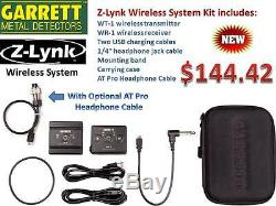 Garrett Z-LYNK Wireless Audio System For AT Pro/Gold FREE Shipping