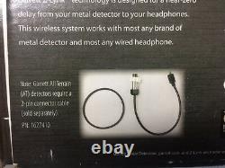 Garrett Z-Lynk Wireless Audio System Kit for Metal Detectors Free Shipping