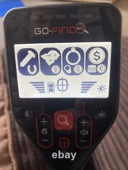 Go Find 60 Metal Detector and accessories