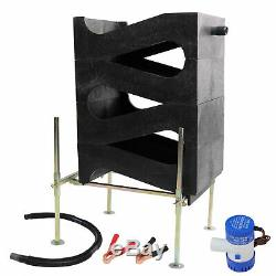 Gold Cube 4 Stack Deluxe Kit with Anodized Gold Banker & 120 Volt Power Supply