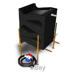 Gold Cube 4 Stack Deluxe Kit with Anodized Gold Banker for Gold Prospecting
