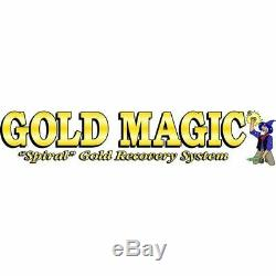 Gold Magic 10M Spiral Gold Panning Wheel Machine Prospecting Recovery