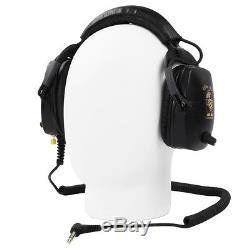 Killer B Hornet Optima Headphones with 1/4 Angled Plug for Metal Detector