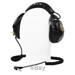 Killer B Optima Headphones with 1/4 Angled Plug for Metal Detector